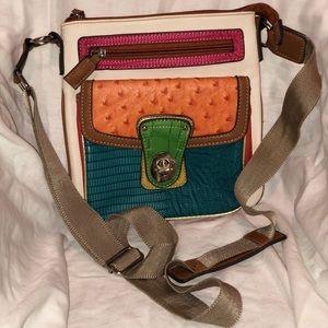 Handbags - Flea Market Crossbody faux leather crossbody bag